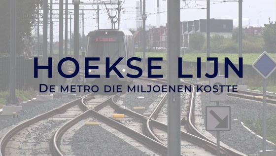 Hoekse Lijn de metro die miljoenen kostte