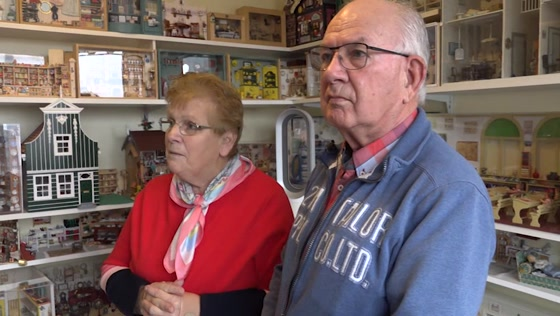 Frits en Wini hebben een huis vol miniaturen en poppenhuizen