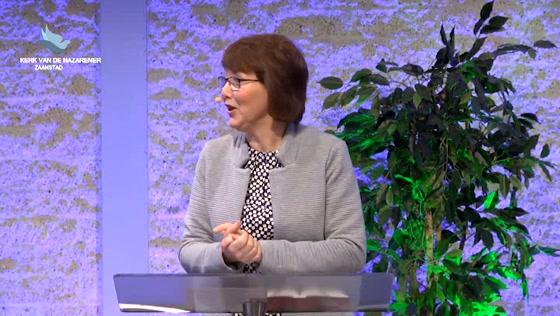 Kerk van de Nazarener dienst - 16 februari