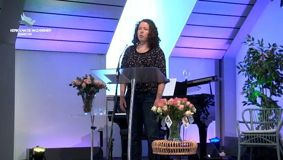 Kerk van de Nazarener dienst - 26 april