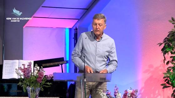 Kerk van de Nazarener dienst - 21 juni