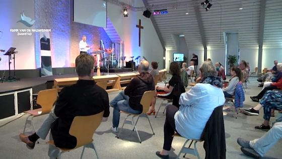 Kerk van de Nazarener dienst - 12 juli