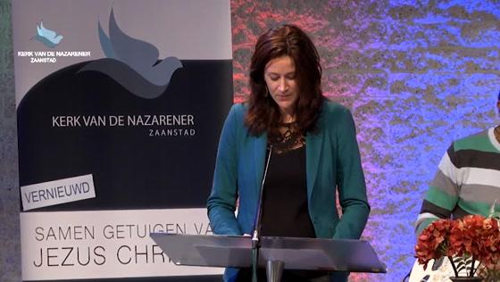Kerk van de Nazarener dienst - 4 oktober