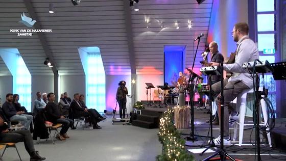 Kerk van de Nazarener dienst - 12 december