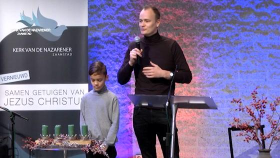 Kerk van de Nazarener dienst - 13 december
