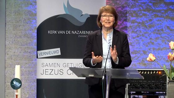 Kerk van de Nazarener dienst - 4 april