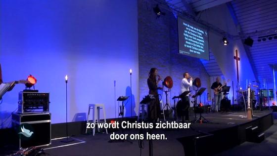 Kerk van de Nazarener dienst - 25 april
