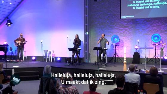 Kerk van de Nazarener dienst - 16 mei