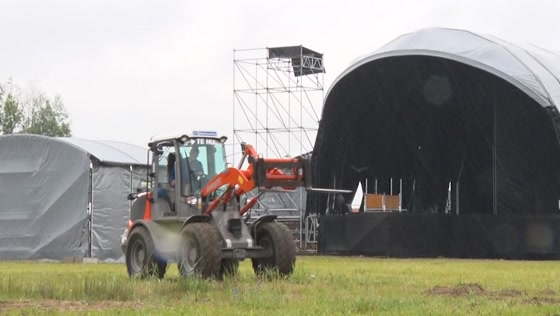 Babbels Live Festival laat zich niet tegenhouden door regen