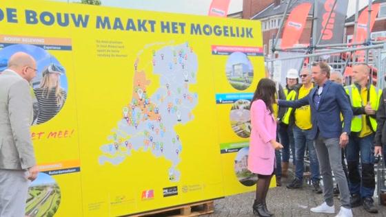 Dag van de Bouw op de Burcht in Zaandam