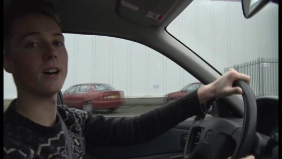 Eerste FEBO-drive in Oostzaan