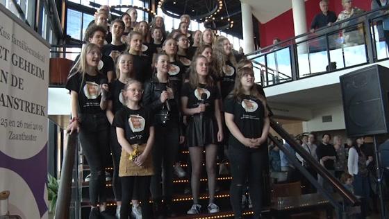 Generale repetitie familiemusical 'Het Geheim van de Zaanstreek'