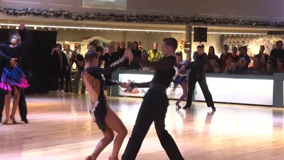 Internationale danswedstrijd gehouden in Zaandam