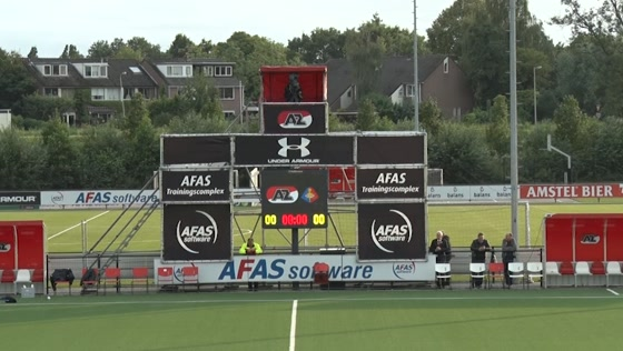 Jong AZ tegen Telstar verslag