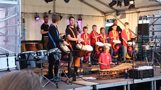 Night of the Drums Crescendo 100 jaar