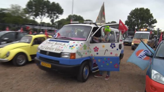 Oempa Loempa Willy Wodka Candy Van vertrokken richting Budapest
