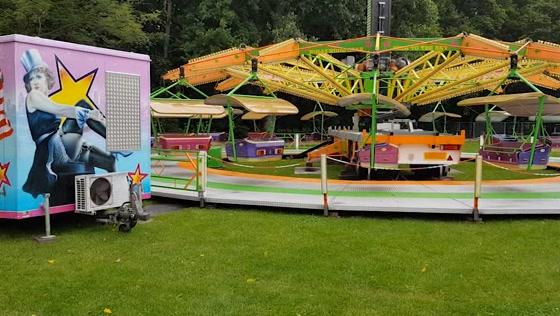 Opening Kermis in t Veldpark