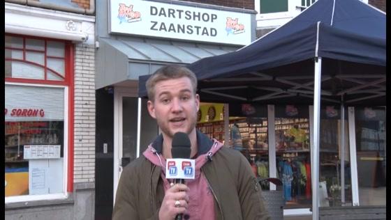 Barney en Van Gerwen openen Dartshop Zaanstad