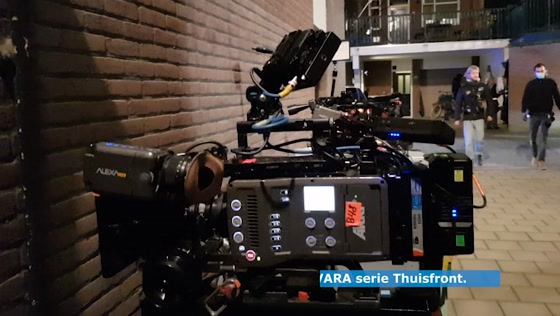 Opname tv serie Thuisfront