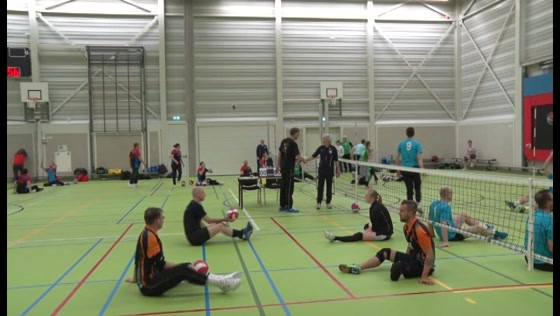 Paravolleybaltoernooi in Topsportcentrum 2017