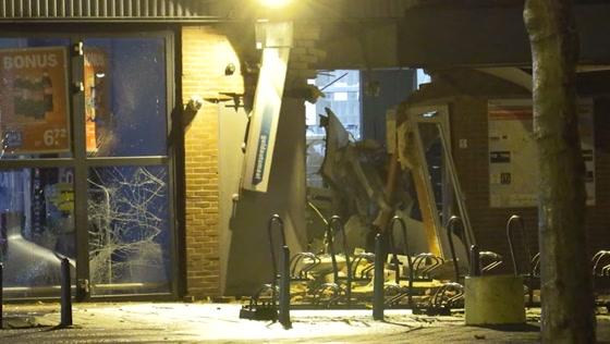 Bewoners schrikken wakker door plofkraak in Zaandam: