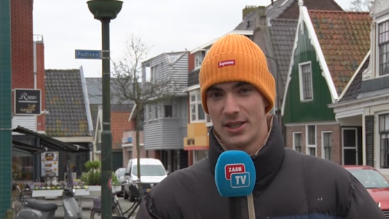 Straatinterview Krommenie ZTV