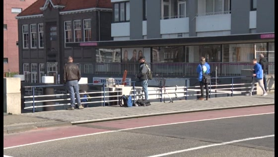 Streetfishing in Zaandam
