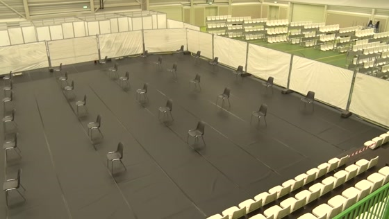 Topsportcentrum de Koog klaar voor medische opvang