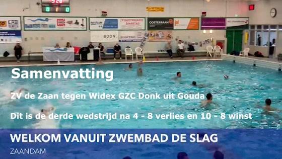 ZV de Zaan samenvatting waterpolofinale