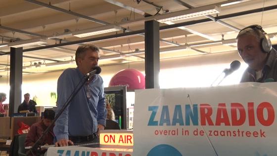 Zaanradio live op locatie