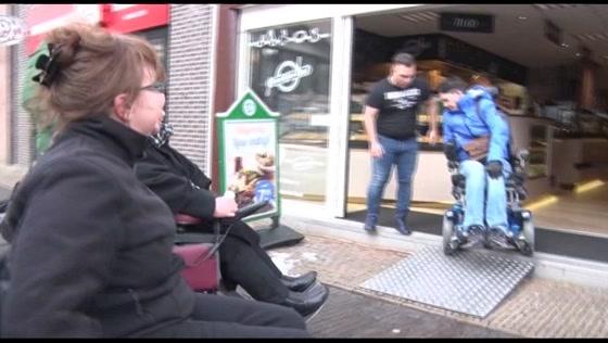 Veel hindernissen voor rolstoelers in Zaandam (bijdrage NH)