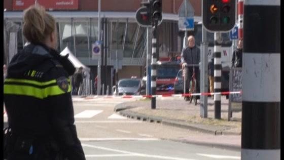 Groot gaslek in de Noorderkerkstraat