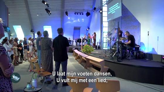 Kerk van de Nazarener dienst - 18 juli