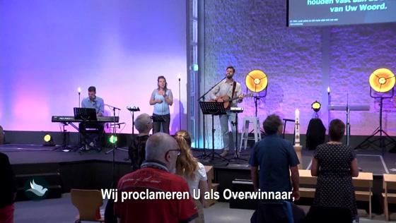 Kerk van de Nazarener dienst - 15 augustus